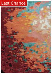 Rugstudio Sample Sale 205352R Orange Area Rug