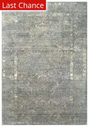 Rugstudio Sample Sale 196552R Gray - Beige Ivory Area Rug