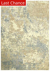 Rugstudio Sample Sale 196554R Beige - Gray Ivory Area Rug