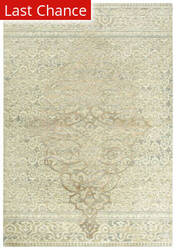 Rugstudio Sample Sale 196556R Beige - Ivory Gray Area Rug