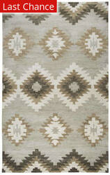 Rugstudio Sample Sale 163588R Gray Area Rug