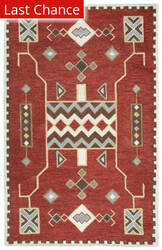 Rugstudio Sample Sale 180123R Red Area Rug