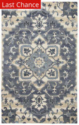 Rugstudio Sample Sale 163880R Blue Area Rug