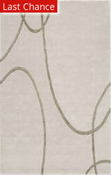 Famous Maker Tufted 43030 White Diamond Area Rug