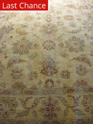 Rugstudio Sample Sale Floral Beige Area Rug