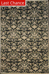 Rugstudio Sample Sale Crown Charcoal Area Rug