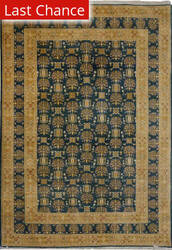 Rugstudio Sample Sale V-1688 Green Area Rug