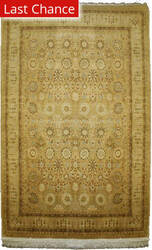 Rugstudio Sample Sale 1605 Brown - Lemon Area Rug