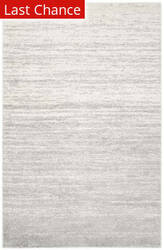 Rugstudio Sample Sale 126621R Ivory - Silver Area Rug