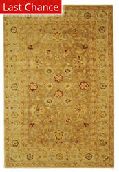 Rugstudio Sample Sale 49587R Tan / Ivory Area Rug