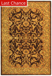Rugstudio Sample Sale 49604R Brown / Tan Area Rug