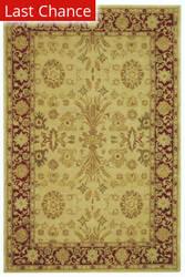 Rugstudio Sample Sale 46275R Ivory / Red Area Rug