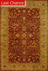 Rugstudio Sample Sale 49617R Rust Area Rug