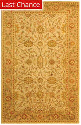 Rugstudio Sample Sale 49621R Ivory / Light Green Area Rug