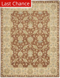 Rugstudio Sample Sale 46294R Brown / Taupe Area Rug