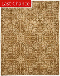 Rugstudio Sample Sale 46295R Gold / Beige Area Rug
