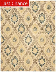 Rugstudio Sample Sale 46296R Light Gold / Multi Area Rug