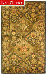 Rugstudio Sample Sale 49649R Olive Area Rug