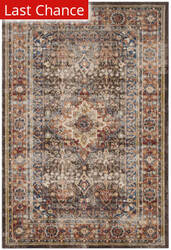 Rugstudio Sample Sale 166157R Brown - Rust Area Rug