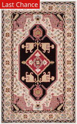 Rugstudio Sample Sale 166169R Beige - Black Area Rug