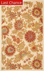 Rugstudio Sample Sale 61169R Ivory / Multi Area Rug