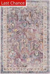 Rugstudio Sample Sale 181931R Lavender - Light Grey Area Rug