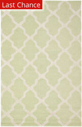 Rugstudio Sample Sale 80381R Light Green / Ivory Area Rug