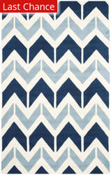 Rugstudio Sample Sale 155107R Dark Blue - Light Blue Area Rug