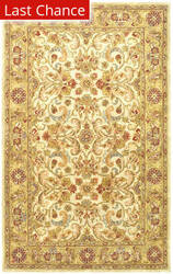 Rugstudio Sample Sale 61208R Grey / Light Gold Area Rug