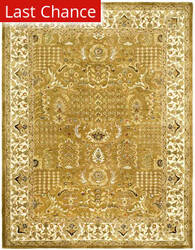 Rugstudio Sample Sale 46525R Gold / Beige Area Rug