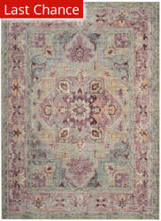 Rugstudio Sample Sale 181944R Grape - Blue Area Rug