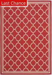 Rugstudio Sample Sale 99062R Red / Bone Area Rug