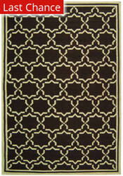 Rugstudio Sample Sale 46658R Chocolate / Ivory Area Rug