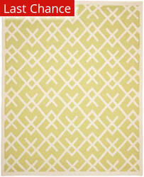 Rugstudio Sample Sale 66266R Light Green / Ivory Area Rug