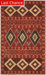 Rugstudio Sample Sale 195662R Red - Multi Area Rug