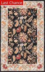 Rugstudio Sample Sale 49892R Black Area Rug