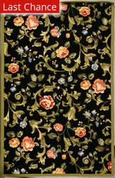 Rugstudio Sample Sale 49968R Black Area Rug