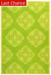 Rugstudio Sample Sale 46421R Green / Beige Area Rug