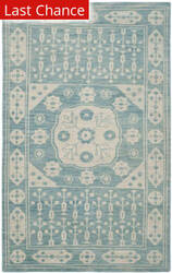 Rugstudio Sample Sale 112077R Blue Area Rug
