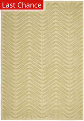 Rugstudio Sample Sale 66450R Chevron Leaves B Area Rug