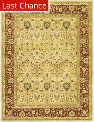 Rugstudio Sample Sale 50187R Ivory / Rust Area Rug