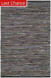 Rugstudio Sample Sale 166584R Black - Multi Area Rug