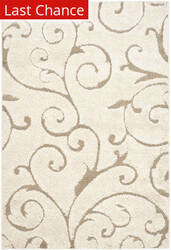Rugstudio Sample Sale 46699R Cream - Beige Area Rug