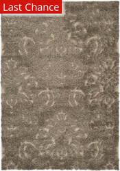 Rugstudio Sample Sale 101575R Smoke / Beige Area Rug