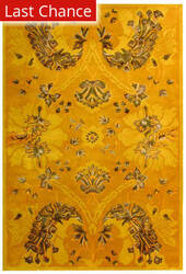 Rugstudio Sample Sale 61150R Gold Area Rug