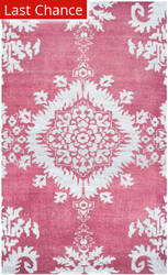 Rugstudio Sample Sale 155762R Fuchsia Area Rug