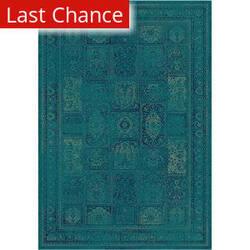 Rugstudio Sample Sale 101023R Turquoise / Multi Area Rug