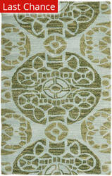 Rugstudio Sample Sale 66444R Turquoise Area Rug