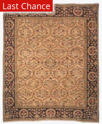 Rugstudio Sample Sale 46950R Camel Area Rug