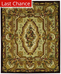 Rugstudio Sample Sale 47086R Gold Area Rug